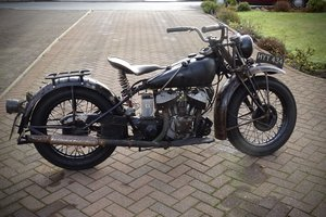 1941 Indian 741 stroker project For Sale