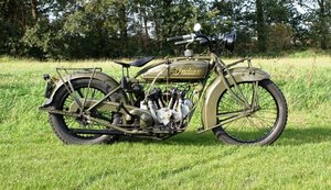 Indian Scout 600cc 1925 with dutch registration papers  For Sale