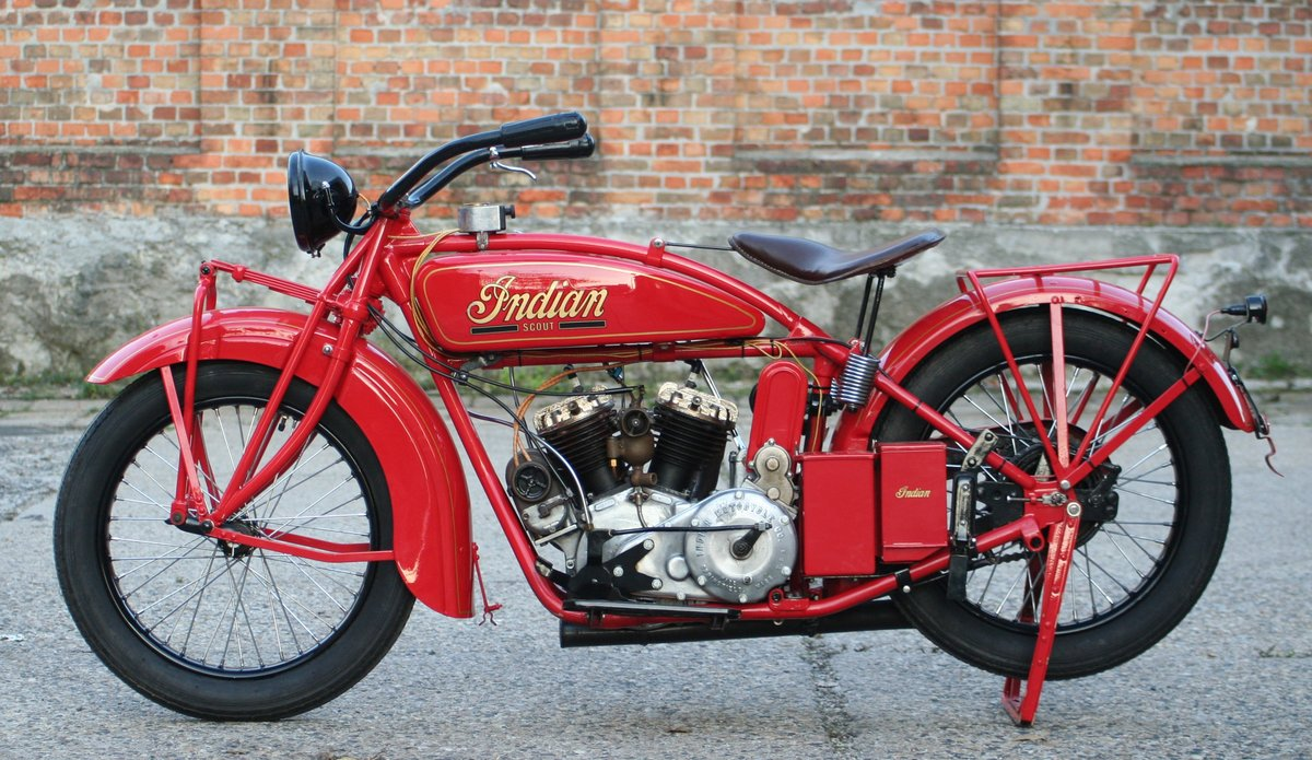 Indian Scout 1927 600cc For Sale (picture 5 of 6)