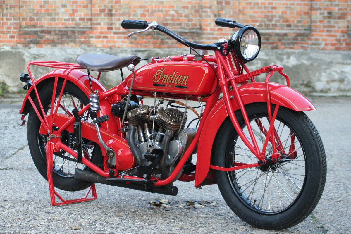 Indian Scout 1927 600cc For Sale (picture 3 of 6)