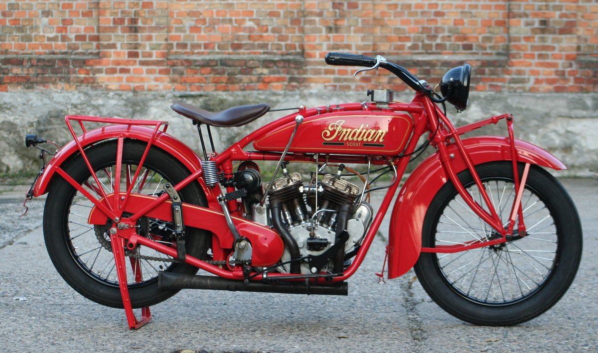 Indian Scout 1927 600cc For Sale (picture 1 of 6)