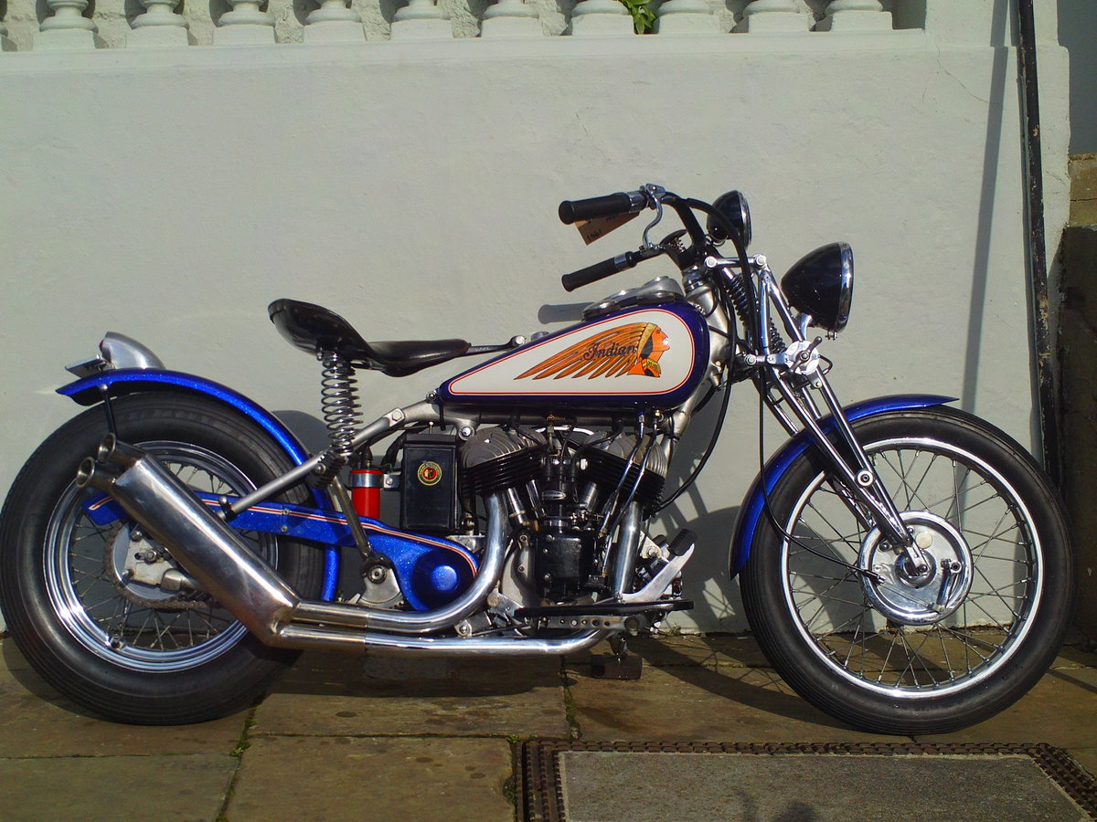 1941 INDIAN SCOUT 741B BOBBER SOLD (picture 1 of 6)