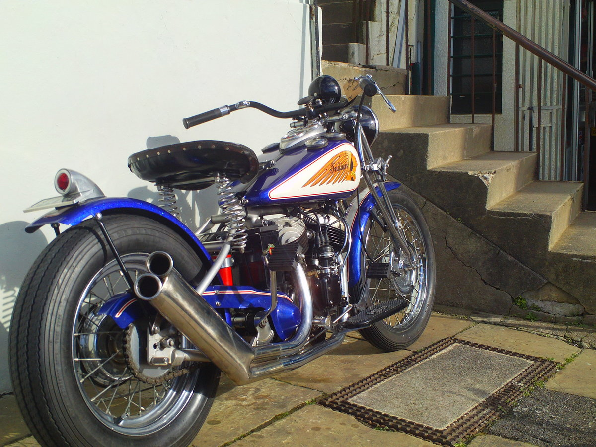 1941 INDIAN SCOUT 741B BOBBER For Sale (picture 2 of 6)