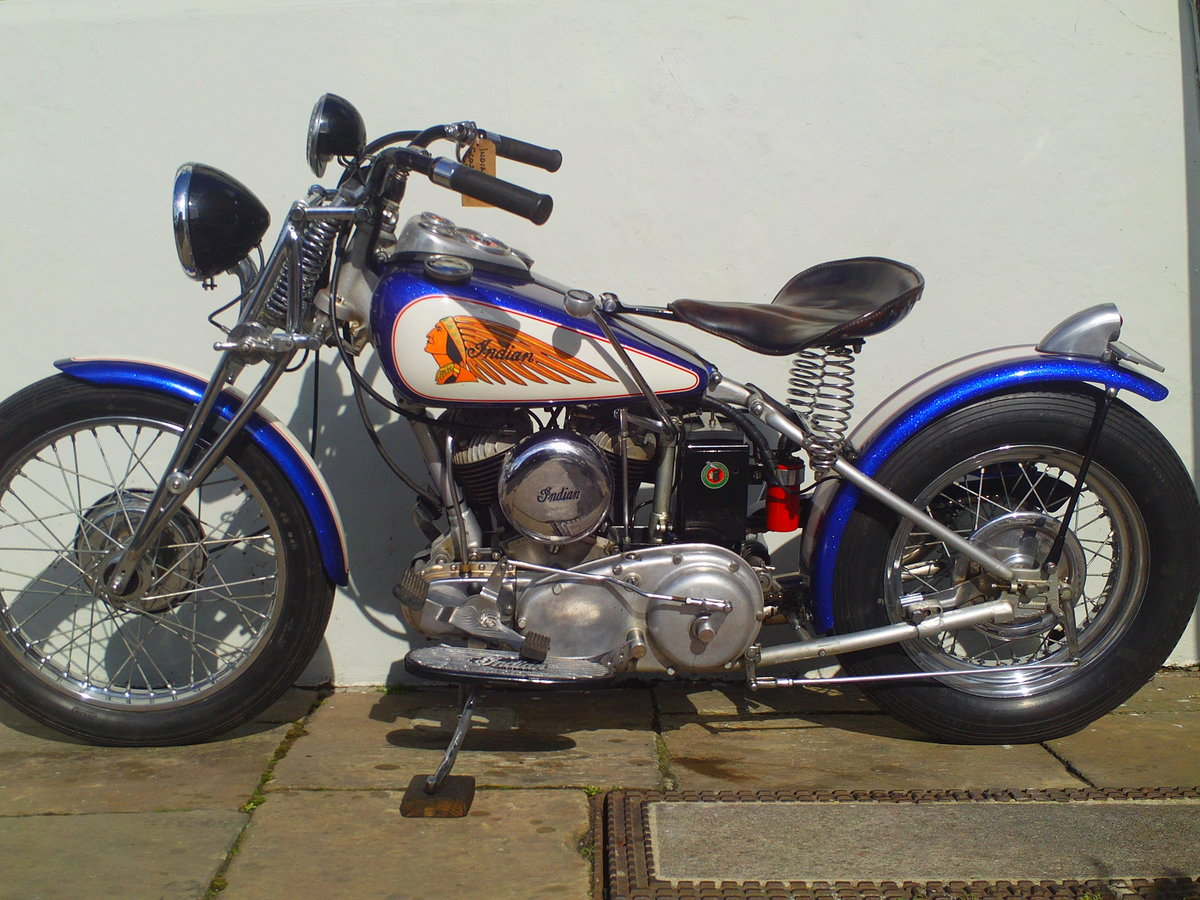 1941 INDIAN SCOUT 741B BOBBER SOLD (picture 3 of 6)