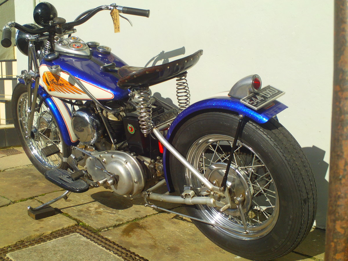 1941 INDIAN SCOUT 741B BOBBER For Sale (picture 4 of 6)