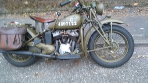 Indian 741b Very rare military model