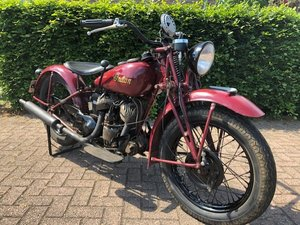 INDIAN 741 SCOUT 1943