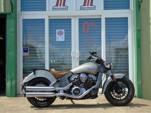 Indian Scout 2016 ABS Only One Owner From New Only