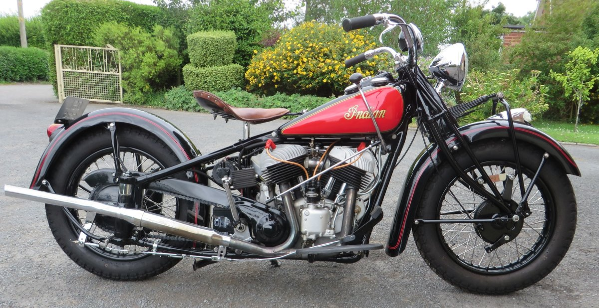 INDIAN CHIEF COLLECTORS MATCHING CONDITION 1940 SOLD (picture 1 of 6)
