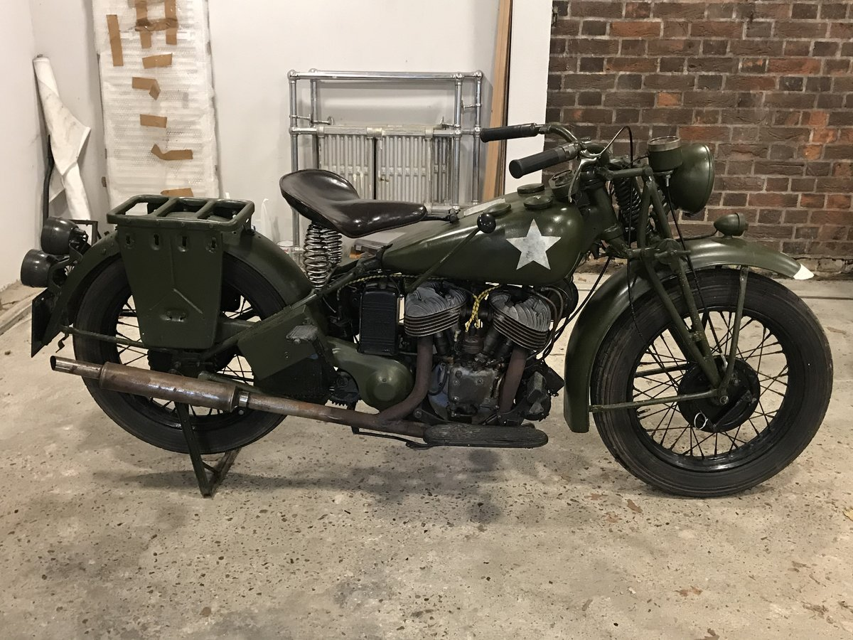 1941 Indian 741 military 500cc For Sale (picture 1 of 6)