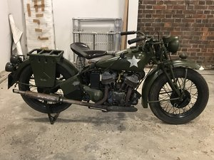 Indian 741 military 500cc