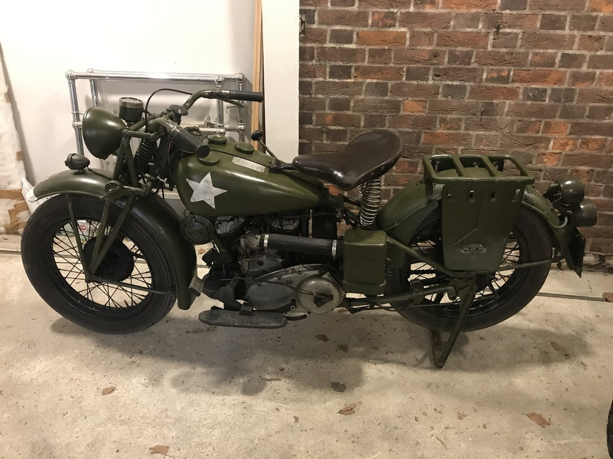 1941 Indian 741 military 500cc For Sale (picture 2 of 6)