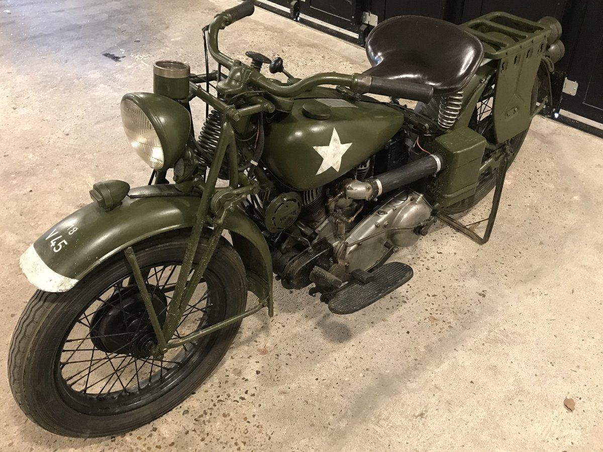1941 Indian 741 military 500cc For Sale (picture 4 of 6)