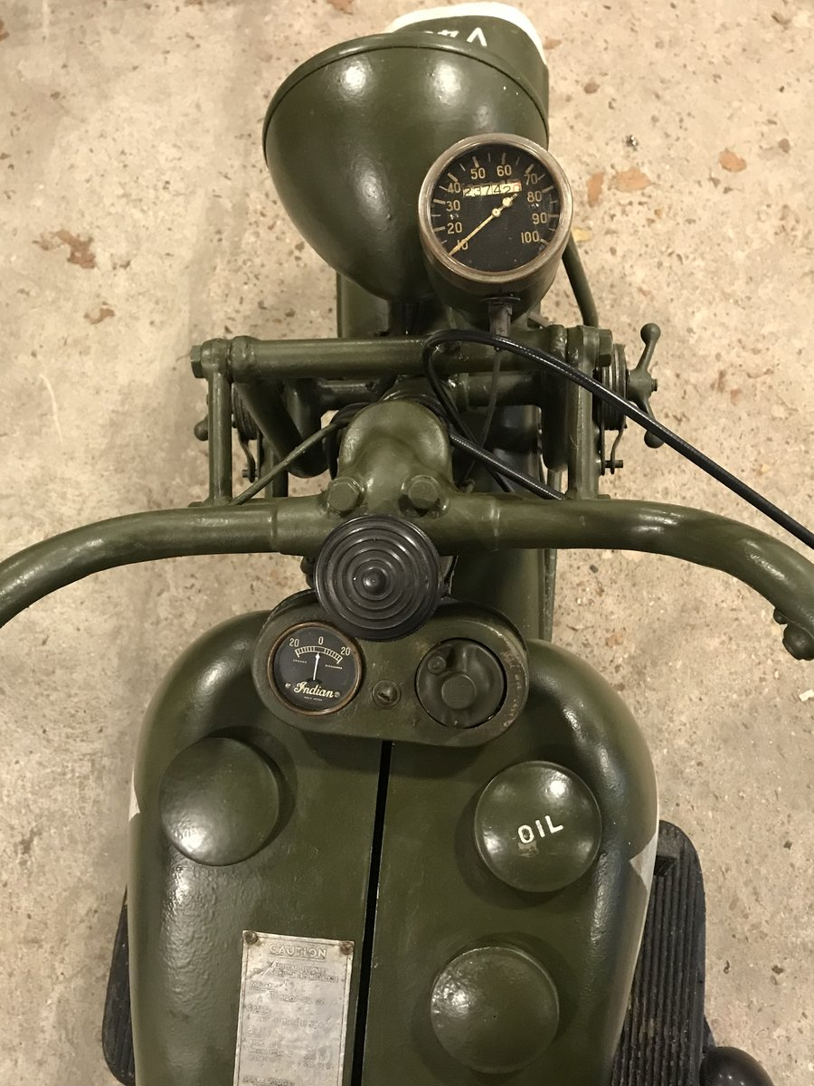 1941 Indian 741 military 500cc For Sale (picture 5 of 6)