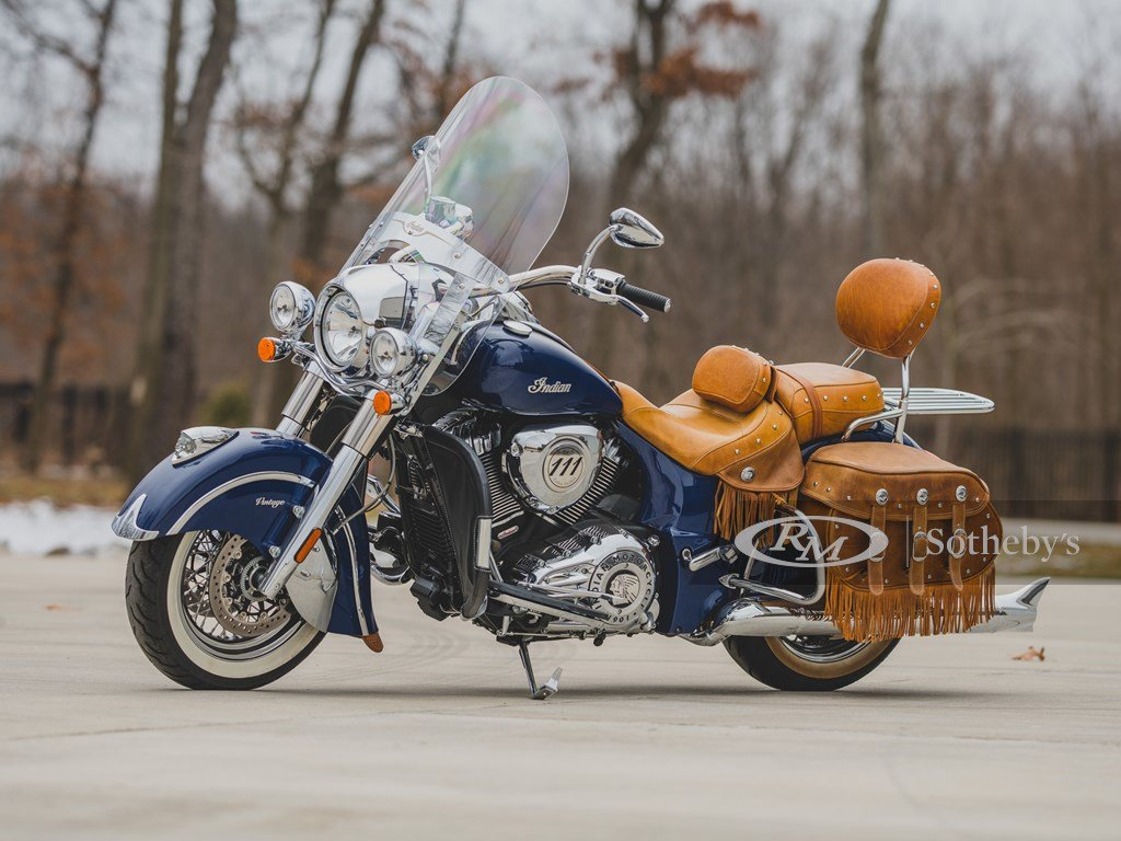 2014 Indian Chief Vintage  For Sale by Auction (picture 1 of 6)