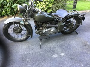 1944 Indian Scout 741 ex Military Bike