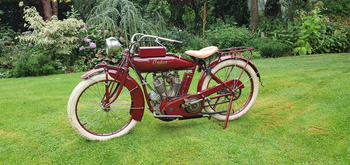 Indian 680cc Little Twin 1916  For Sale (picture 5 of 6)