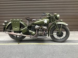 1941 Military Indian 741B - matching numbers