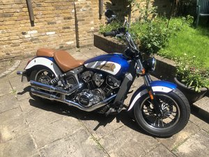 Indian Scout (1133cc), Low Miles