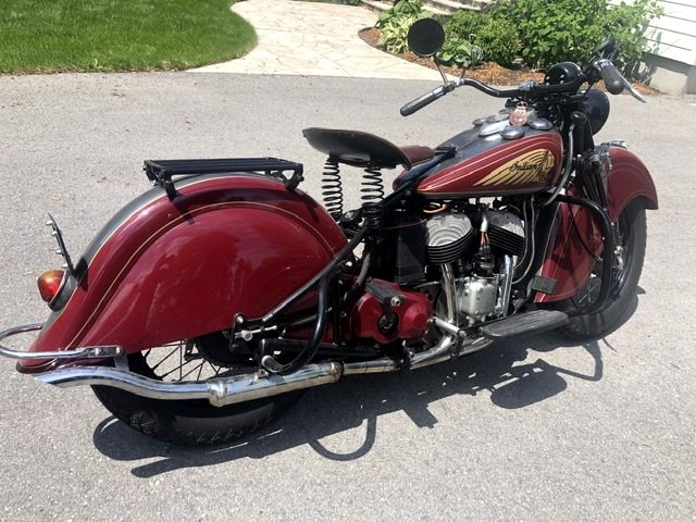 1940 Indian Sport Scout For Sale (picture 2 of 6)