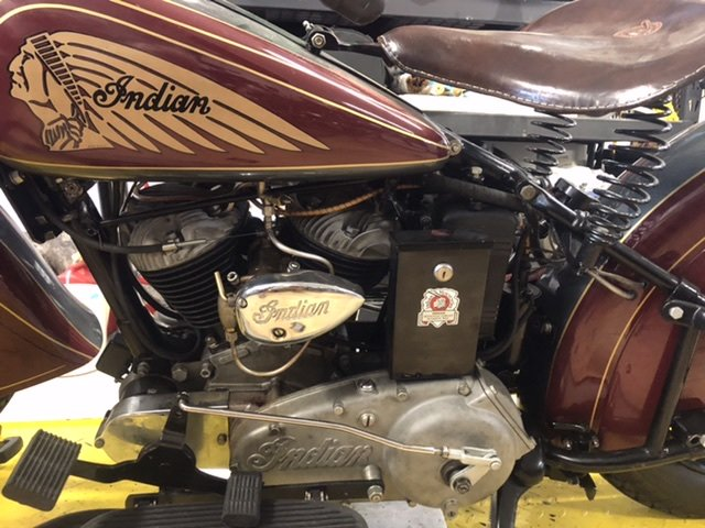 1940 Indian Sport Scout For Sale (picture 5 of 6)