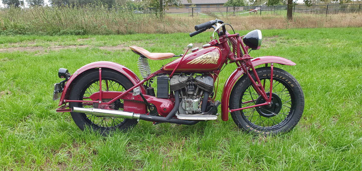 1941 Indian 741B with Dutch registration papers  For Sale (picture 1 of 3)