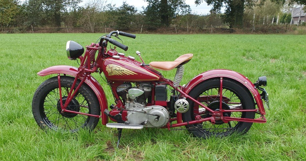 1941 Indian 741B with Dutch registration papers  For Sale (picture 3 of 3)