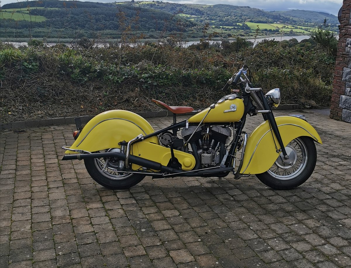 1946 Indian Chief Motorcycle For Sale (picture 2 of 6)