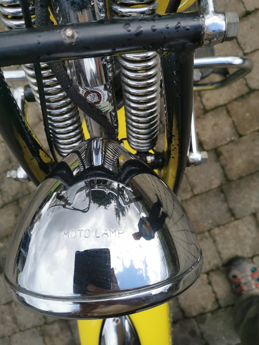 1946 Indian Chief Motorcycle For Sale (picture 4 of 6)