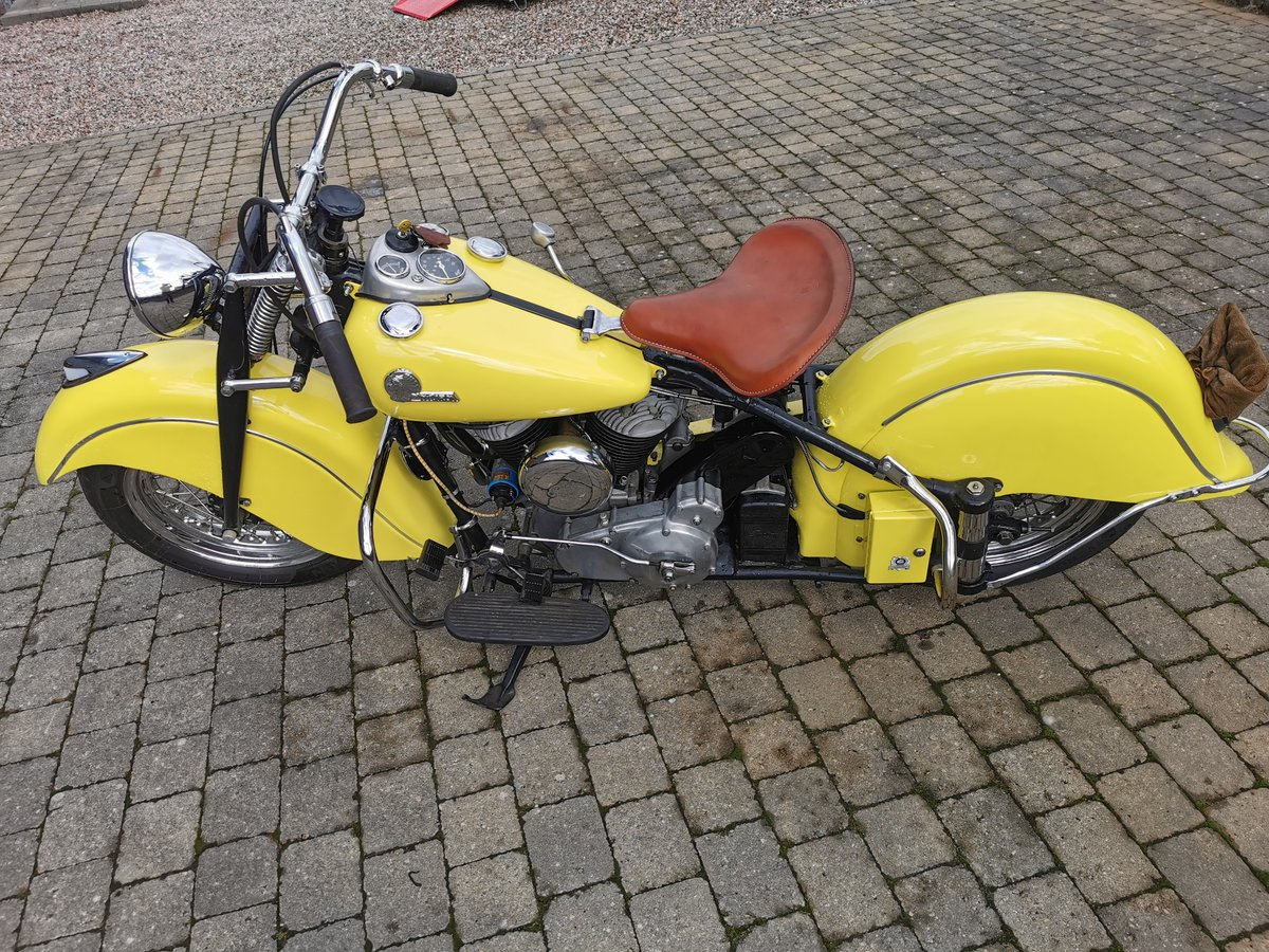 1946 Indian Chief Motorcycle For Sale (picture 6 of 6)