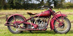 Very Rare Indian Standard scout 750cc 1932