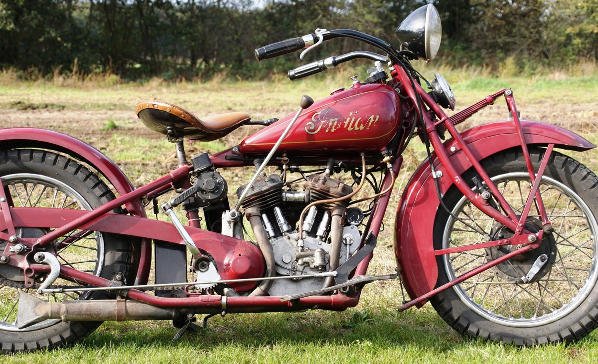 Very Rare Indian Standard scout 750cc 1932 For Sale (picture 2 of 7)