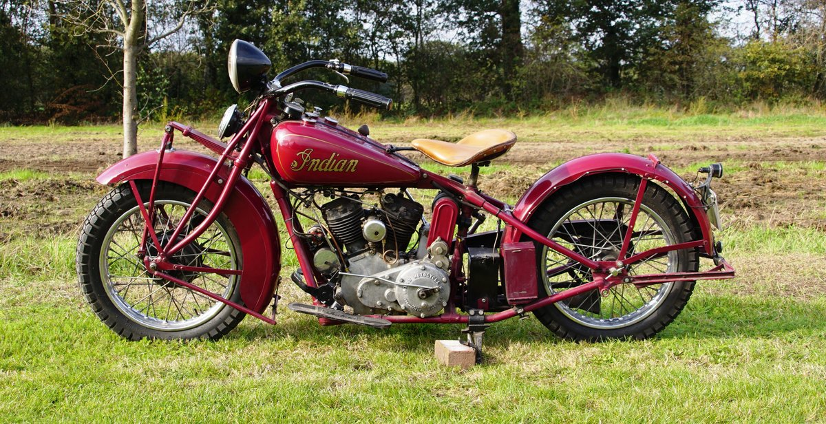Very Rare Indian Standard scout 750cc 1932 For Sale (picture 5 of 7)