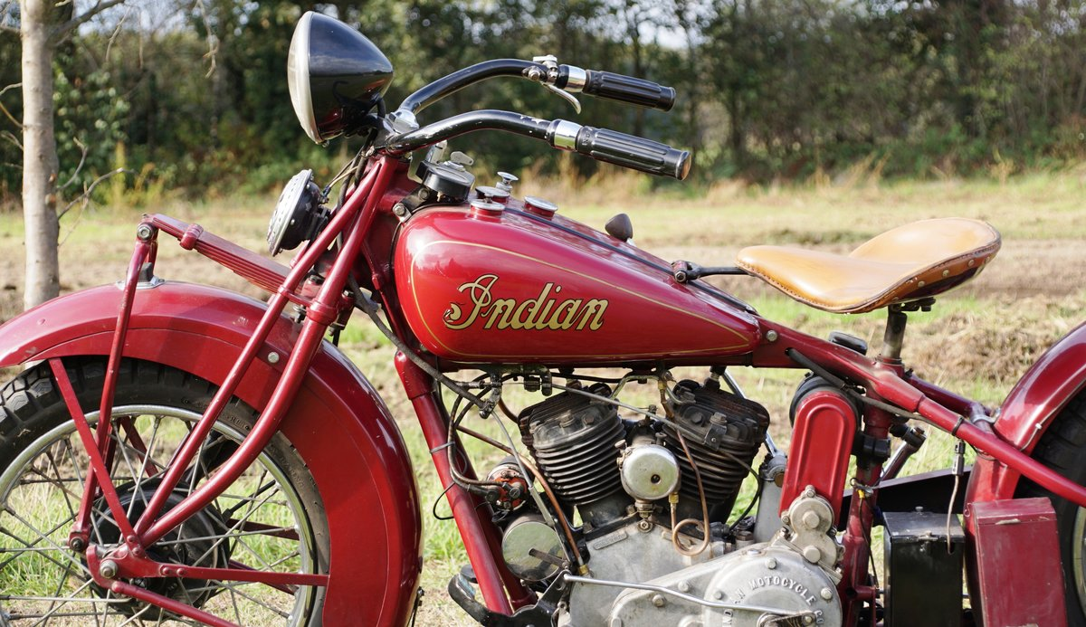 Very Rare Indian Standard scout 750cc 1932 For Sale (picture 7 of 7)