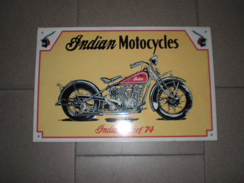1974 Indian chief metal table For Sale (picture 1 of 1)