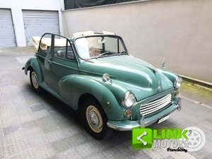 1965 Innocenti MORRIS MINOR 1000 CONVERTIBILE --PERFETTAMENT