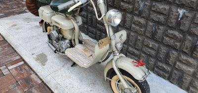 Picture of 1956 Innocenti Lambretta 150d Scooter, with Gold Plate, no Vespa
