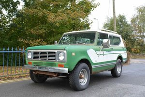 1976 International Harvester Scout II XLC For Sale by Auction