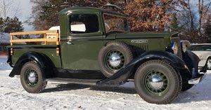 Very Rare 1936 International C1 Shortbox 100% original parts For Sale