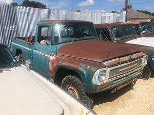 1966 1968 International Harvester SWB 4x4 $5k plus more coming   For Sale