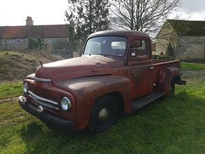 1950 International L110 short bed half ton pickup