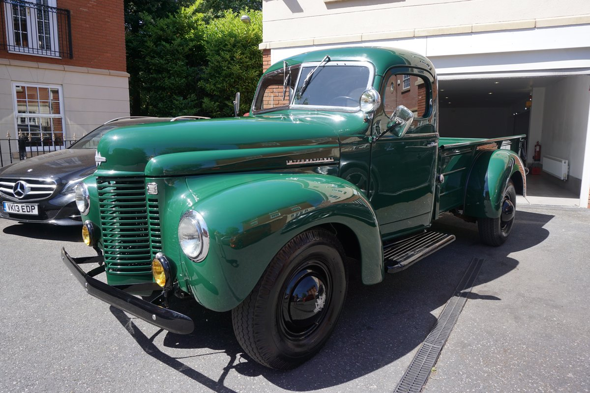 1946 3.5 V8 AUTO, ABSOLUTELY STUNNING CLASSIC PICKUP, For Sale (picture 1 of 6)