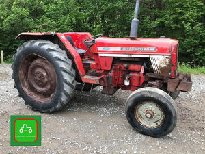 1977 INTERNATIONAL 674 ALL WORKING CHEAP TRACTOR SEE VID CAN DROP SOLD
