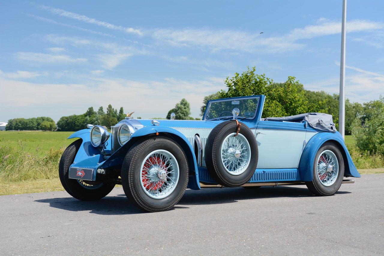 Invicta S-type Low Chassis Drophead Coupé 1934 For Sale (picture 1 of 6)