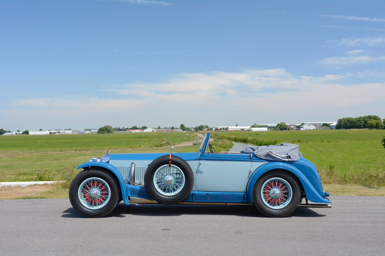 Invicta S-type Low Chassis Drophead Coupé 1934 For Sale (picture 2 of 6)