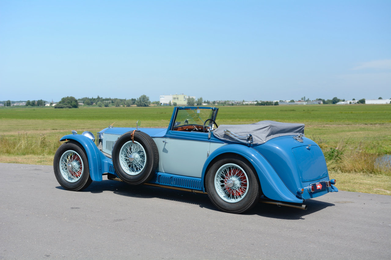 Invicta S-type Low Chassis Drophead Coupé 1934 For Sale (picture 3 of 6)