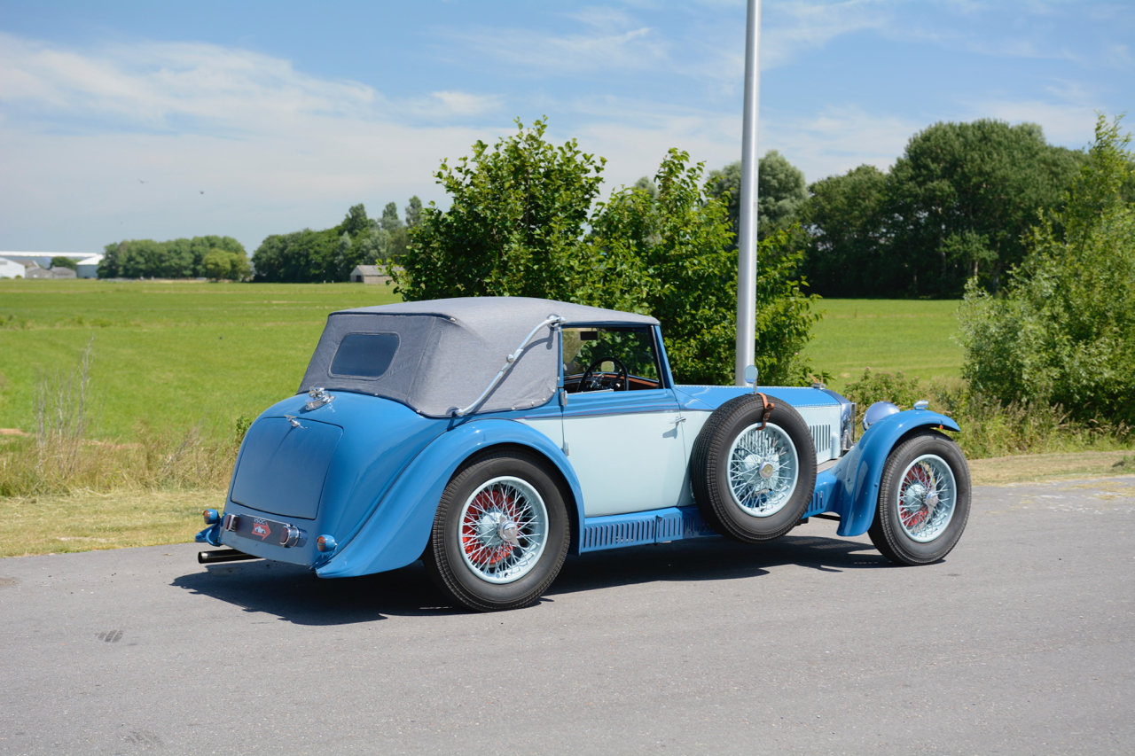 Invicta S-type Low Chassis Drophead Coupé 1934 For Sale (picture 4 of 6)