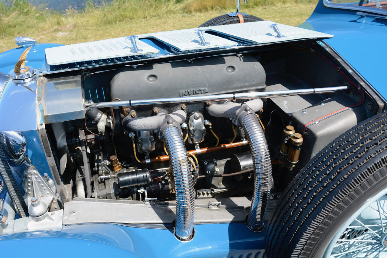 Invicta S-type Low Chassis Drophead Coupé 1934 For Sale (picture 6 of 6)