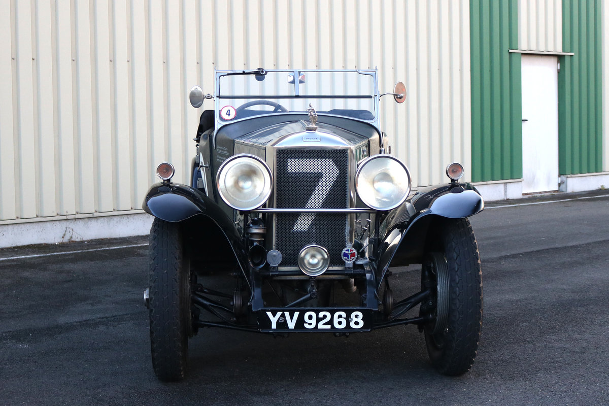 1928 Invicta High Chassis 4,5Liter -  Le Mans Team Car 1929 For Sale (picture 1 of 4)