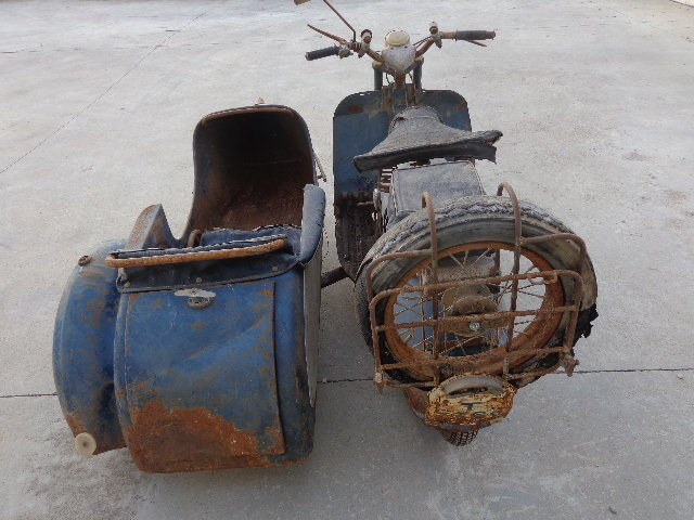 1957 Iso 125 with sidecar  For Sale (picture 2 of 6)